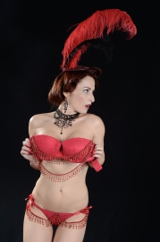 Lola Morgan burlesque star